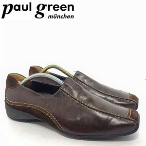 Paul Green Leather/Suede Flats Sz 8.5